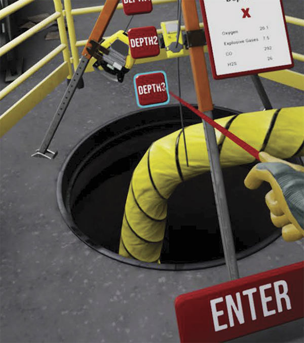 VR Confined Spaces
